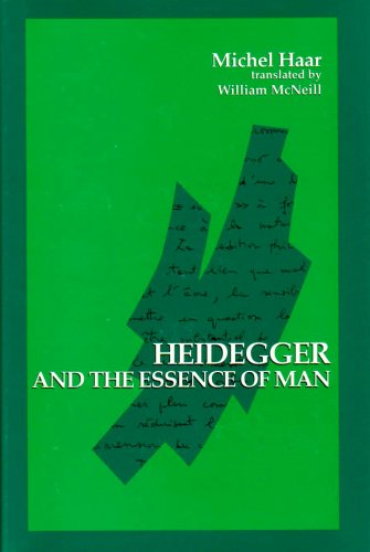 9780791415559: Heidegger and the Essence of Man (Suny Series in Contemporary Continental Philosophy)