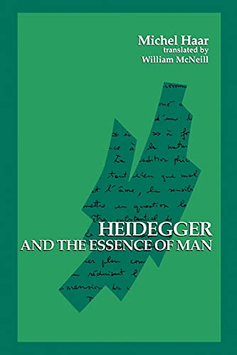 9780791415566: Heidegger and the Essence of Man (Suny Series in Contemporary Continental Philosophy)
