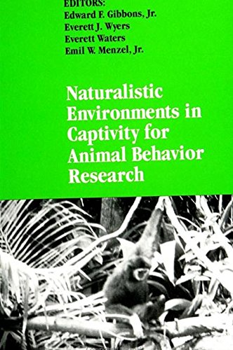 9780791416471: Naturalistic Environments in Captivity for Animal Behavior Research (Suny Series in Endangered Species)