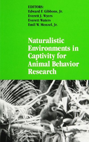 9780791416488: Naturalistic Environments in Captivity for Animal Behavior Research (Suny Series in Endangered Species)