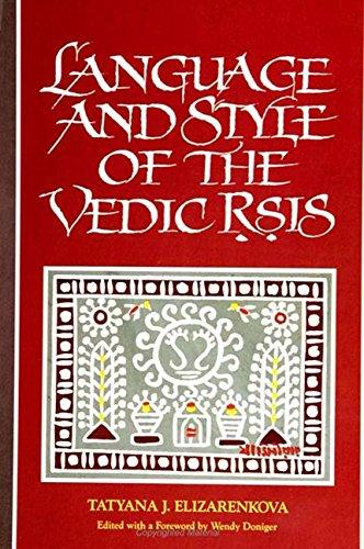 9780791416679: Language and Style of the Vedic Rsis (S U N Y Series in Hindu Studies)