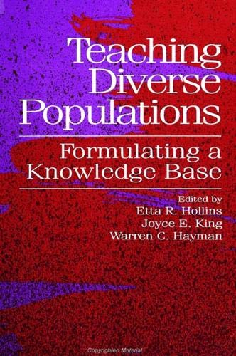 9780791417218: Teaching Diverse Populations: Formulating a Knowledge Base (SUNY series, The Social Context of Education)