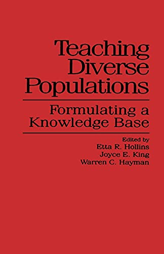 9780791417225: Teaching Diverse Populations: Formulating a Knowledge Base (SUNY series, The Social Context of Education)