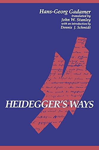 9780791417386: Heidegger's Ways (Suny Series in Contemporary Continental Philosophy)