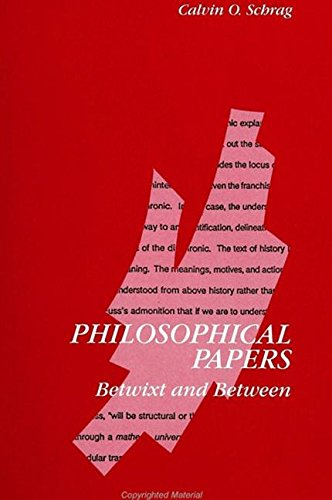 9780791418291: Philosophical Papers: Betwixt and Between (Suny Series in Contemporary Continental Philosophy)
