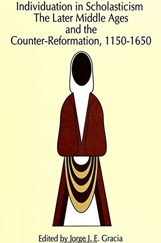 9780791418598: Individuation in Scholasticism: The Later Middle Ages and the Counter-Reformation, 1150-1650 (SUNY Series in Philosophy)