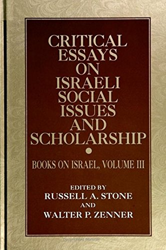 9780791419595: Critical Essays on Israeli Social Issues and Scholarship: Books on Israel, Volume III (SUNY series in Israeli Studies)