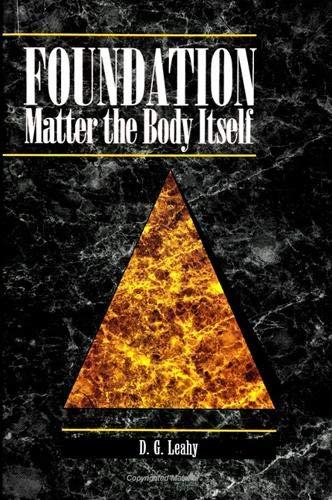 9780791420218: Foundation: Matter the Body Itself
