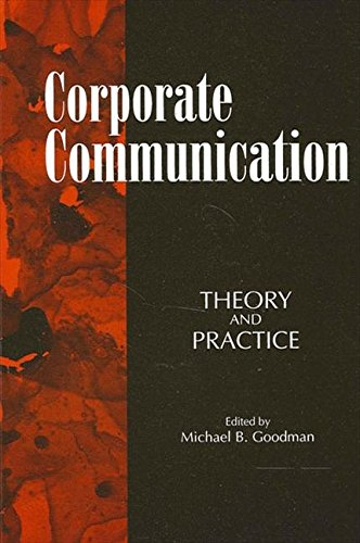 9780791420553: Corporate Communication: Theory and Practice (S U N Y Series in Human Communication Processes)