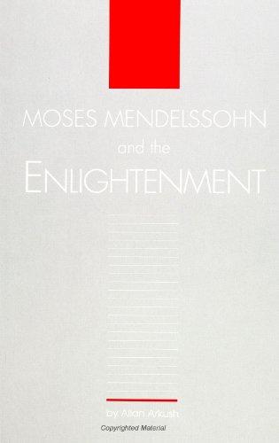 9780791420720: Moses Mendelssohn and the Enlightenment (SUNY Seri (SUNY series in Judaica: Hermeneutics, Mysticism, and Religion)