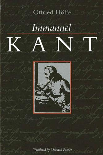 9780791420935: Immanuel Kant (Suny Series in Ethical Theory)
