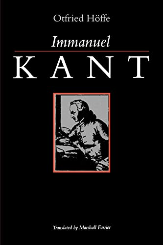 Immanuel Kant (Suny Series, Ethical Theory): Hoffe, Otfried