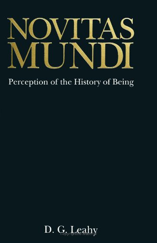 9780791421383: Novitas Mundi: Perception of the History of Being