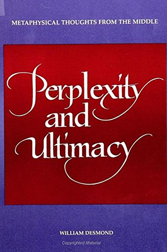 9780791423875: Perplexity and Ultimacy: Metaphysical Thoughts from the Middle