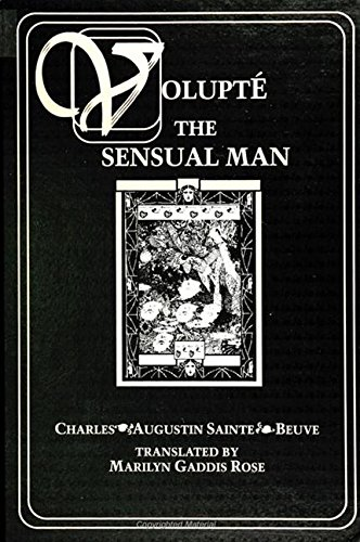 9780791424513: Volupte: The Sensual Man