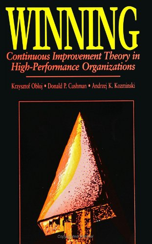 9780791425220: Winning: Continuous Improvement Theory in High Performance Organizations (SUNY series in International Management)