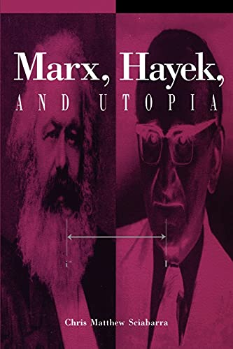 9780791426166: Marx, Hayek, and Utopia