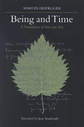 9780791426784: Being and Time: A Translation of Sein und Zeit (SUNY series in Contemporary Continental Philosophy)