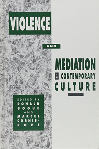 9780791427194: Violence and Mediation in Contemporary Culture (S U N Y Series, Margins of Literature)