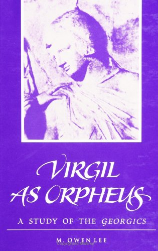 9780791427842: Virgil as Orpheus: A Study of the Georgics (SUNY series in Classical Studies)