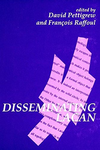 9780791427859: Disseminating Lacan (SUNY series in Contemporary Continental Philosophy)