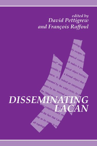 9780791427866: Disseminating Lacan (SUNY series in Contemporary Continental Philosophy)