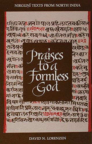 9780791428054: Praises to a Formless God: Nirguni Texts from North India (Suny Series in Religious Studies) (English and Hindi Edition)