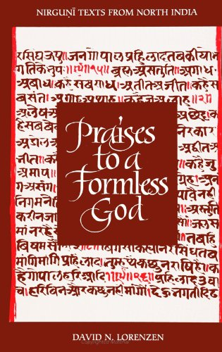 9780791428061: Praises to a Formless God: Nirguni Texts from North India (S U N Y Series in Religious Studies) (Suny Series, Religious Studies) (English and Hindi Edition)
