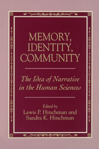Memory, Identity, Community Suny Series in the Philosophy of the Social Sciences The Idea of ...