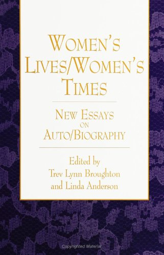 9780791433980: Women's Lives/Women's Times: New Essays on Auto/Biography (S U N Y Series, Feminist Theory in Education)