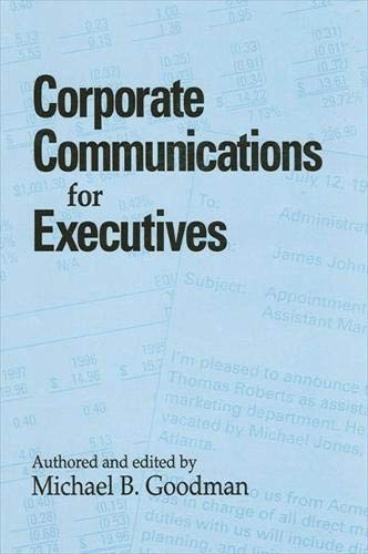 9780791437612: Corporate Communications for Executives (S U N Y Series in Human Communication Processes)