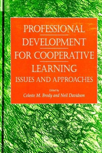 9780791438497: Professional Development for Cooperative Learning: Issues and Approaches