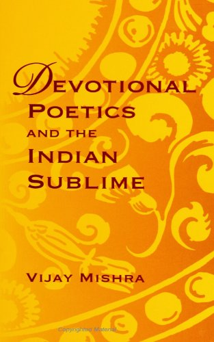 9780791438725: Devotional Poetics and the Indian Sublime (Suny Series on the Sublime) (Suny Series, Sublime)
