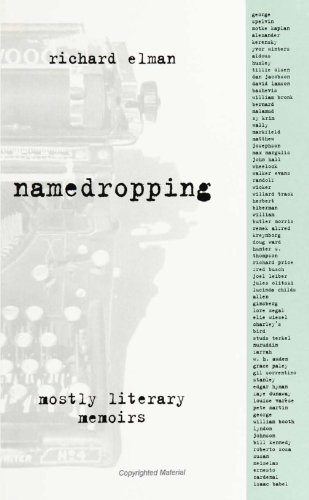 Namedropping: Mostly Literary Memoirs: Richard Elman