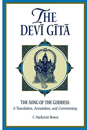 9780791439401: The Devi Gita: The Song of the Goddess: A Translation