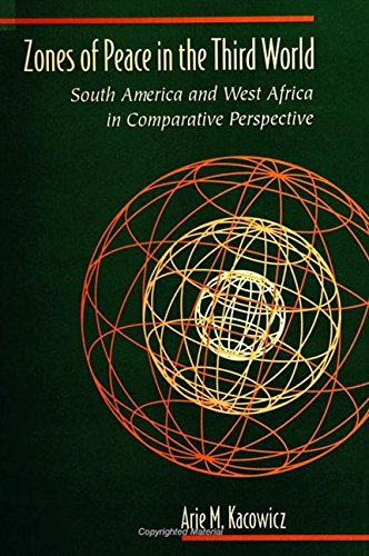 9780791439579: Zones of Peace in the Third World: South America and West Africa in Comparative Perspective (SUNY series in Global Politics)