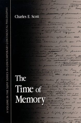 9780791440810: The Time of Memory (SUNY series in Contemporary Continental Philosophy)