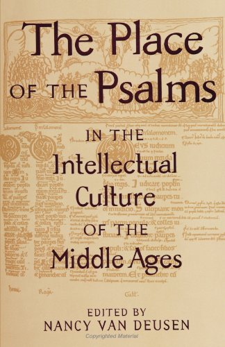 9780791441305: The Place of the Psalms in the Intellectual Culture of the Middle Ages (S U N Y Series in Medieval Studies)