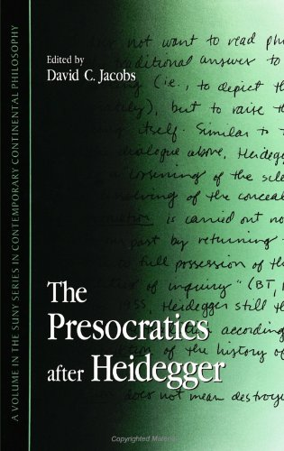 9780791442005: The Presocratics after Heidegger (SUNY series in Contemporary Continental Philosophy)