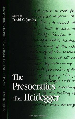 9780791442005: The Presocratics after Heidegger (SUNY series in Contemporary Continental Philosophy)