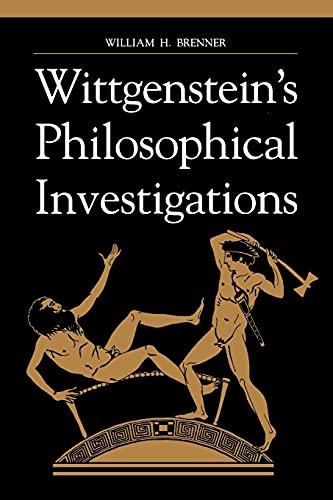 9780791442029: Wittgenstein's Philosophical Investigations (SUNY Series in Philosophy)