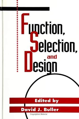 9780791442111: Function, Selection, and Design (Suny Series in Philosophy and Biology)