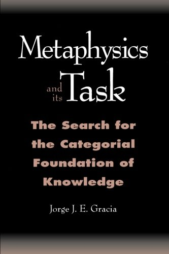 9780791442142: Metaphysics and Its Task: The Search for the Categorial Foundation of Knowledge (SUNY Series in Philosophy)