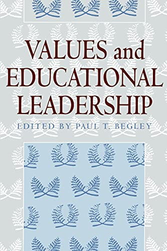 9780791442920: Values and Educational Leadership (Suny Series, Educational Leadership)