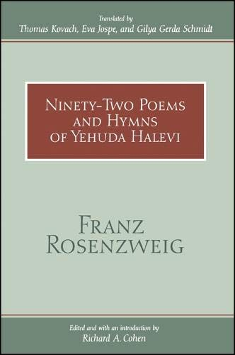 9780791443897: Ninety-Two Poems and Hymns of Yehuda Halevi