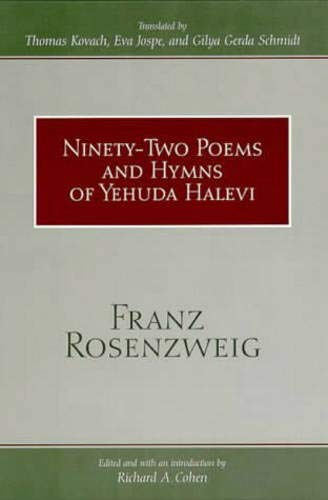 9780791443903: Ninety-Two Poems and Hymns of Yehuda Halevi