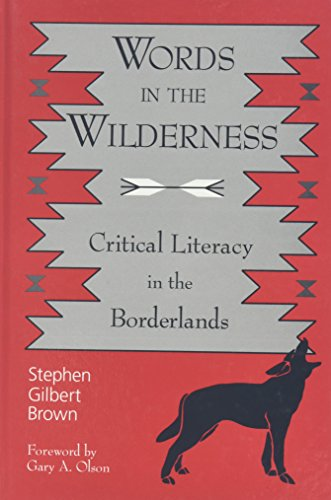 9780791444054: Words in the Wilderness: Critical Literacy in the Borderlands (Suny Series, Interruptions -- Border Testimony(Ies) and Critical Discourses/S)