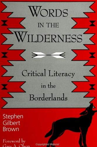 9780791444061: Words in the Wilderness: Critical Literacy in the Borderlands (Suny Series, Interruptions -- Border Testimony(Ies) and Critical Discourses/S)