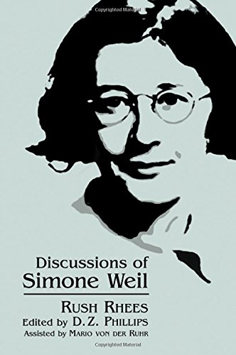 9780791444276: Discussions of Simone Weil (SUNY series, Simone Weil Studies)