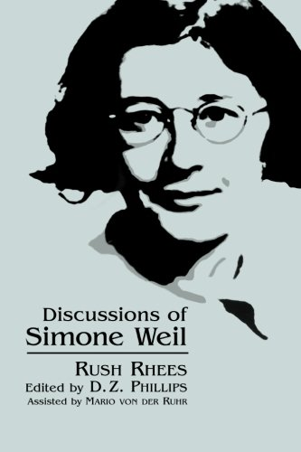 9780791444283: Discussions of Simone Weil (SUNY series, Simone Weil Studies)